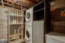 Basement Laundry - 12920 COLBY DR, WOODBRIDGE