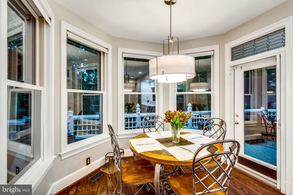 EAT IN BREAKFAST NOOK - 11104 PRINCE EDWARD CT, OAKTON