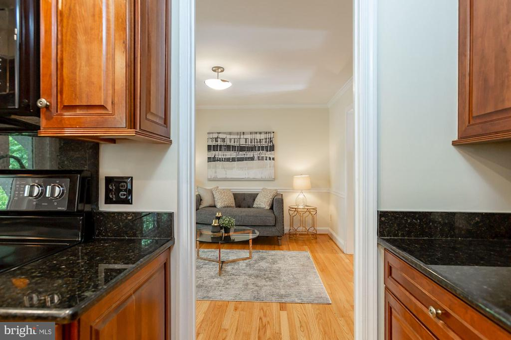 Leads to Family Room - 1206 HIGHLAND DR, SILVER SPRING