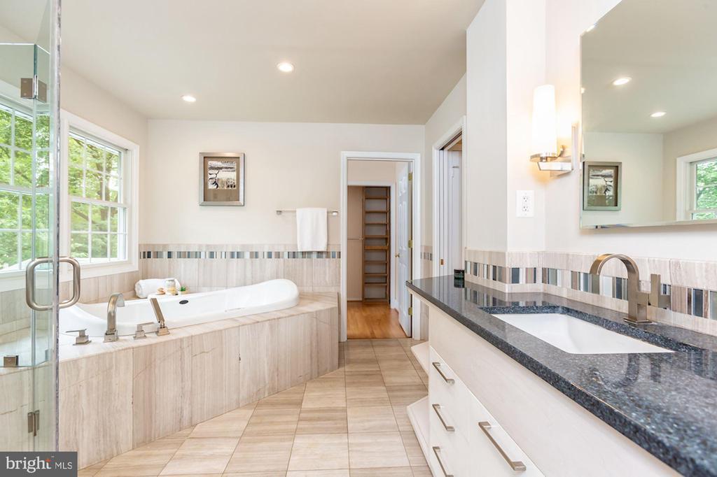 Marvelous Ensuite Spa Bath - 1206 HIGHLAND DR, SILVER SPRING
