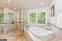 Separate Shower & Tub - 1206 HIGHLAND DR, SILVER SPRING