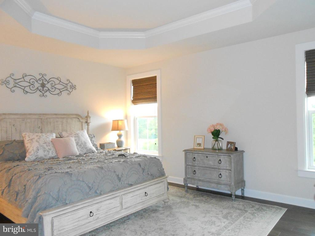 Spacious Master Bedroom - 6435 BOB WHITE DRIVE, WARRENTON