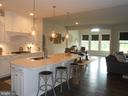Gorgeous Quartz counters - 6435 BOB WHITE DRIVE, WARRENTON