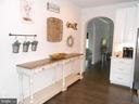 Custom Arched Doorways - 6435 BOB WHITE DRIVE, WARRENTON