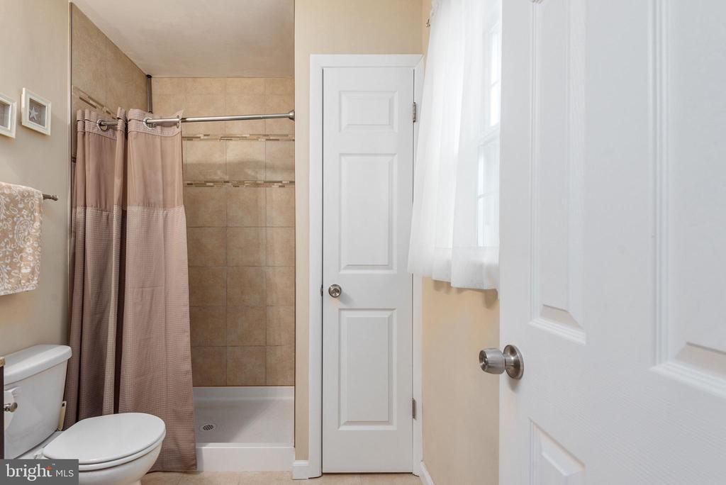 Master bath also includes a window for lighting - 146 WINEWOOD DR, LOCUST GROVE