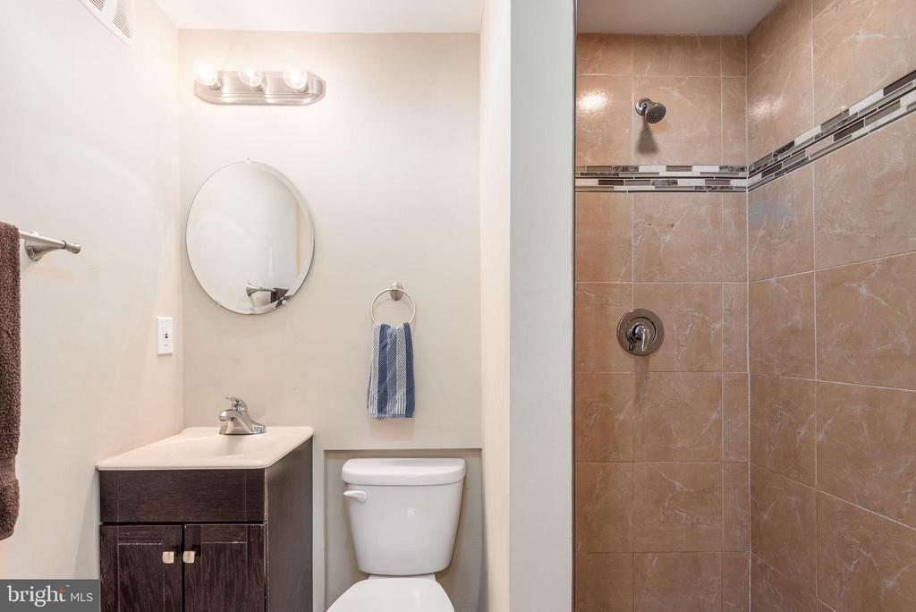 Full bathroom main level gorgeous remodel - 146 WINEWOOD DR, LOCUST GROVE