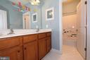 Upper level hall bathroom - 21716 MUNDAY HILL PL, BROADLANDS