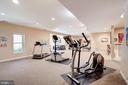 HUGE rec room space! - 43705 MAHOGANY RUN CT, LEESBURG