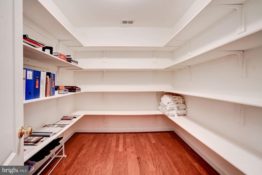 Huge closet in lower level bedroom - 43705 MAHOGANY RUN CT, LEESBURG