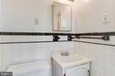 Hall full-bath - 5033 V ST NW, WASHINGTON