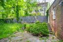 Back patio - 5033 V ST NW, WASHINGTON