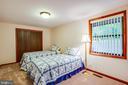Large second bedroom - 122 MADISON CIR, LOCUST GROVE