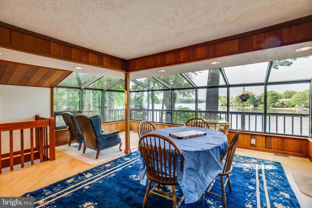 PHENOMENAL views from the kitchen/ dining/ living - 122 MADISON CIR, LOCUST GROVE