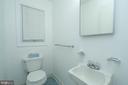 Half-Bath - 6001 SHERBORN LN, SPRINGFIELD
