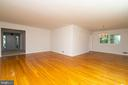 Spacious Living and Dining Rooms - 6001 SHERBORN LN, SPRINGFIELD