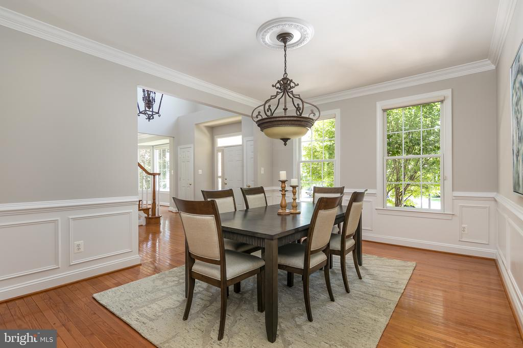Dining room - 19030 COTON FARM CT, LEESBURG