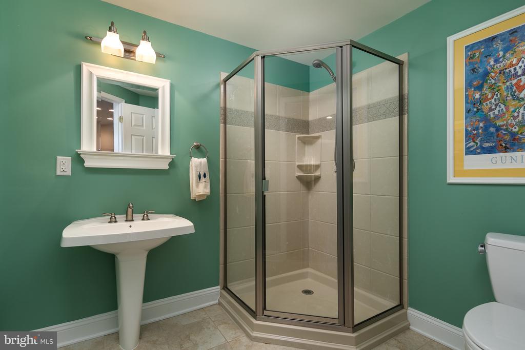 Full bath #3 on lower level - 19030 COTON FARM CT, LEESBURG