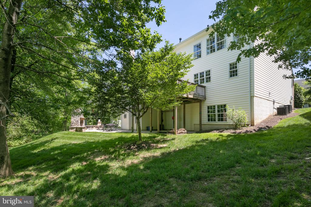 Large private lot - 19030 COTON FARM CT, LEESBURG