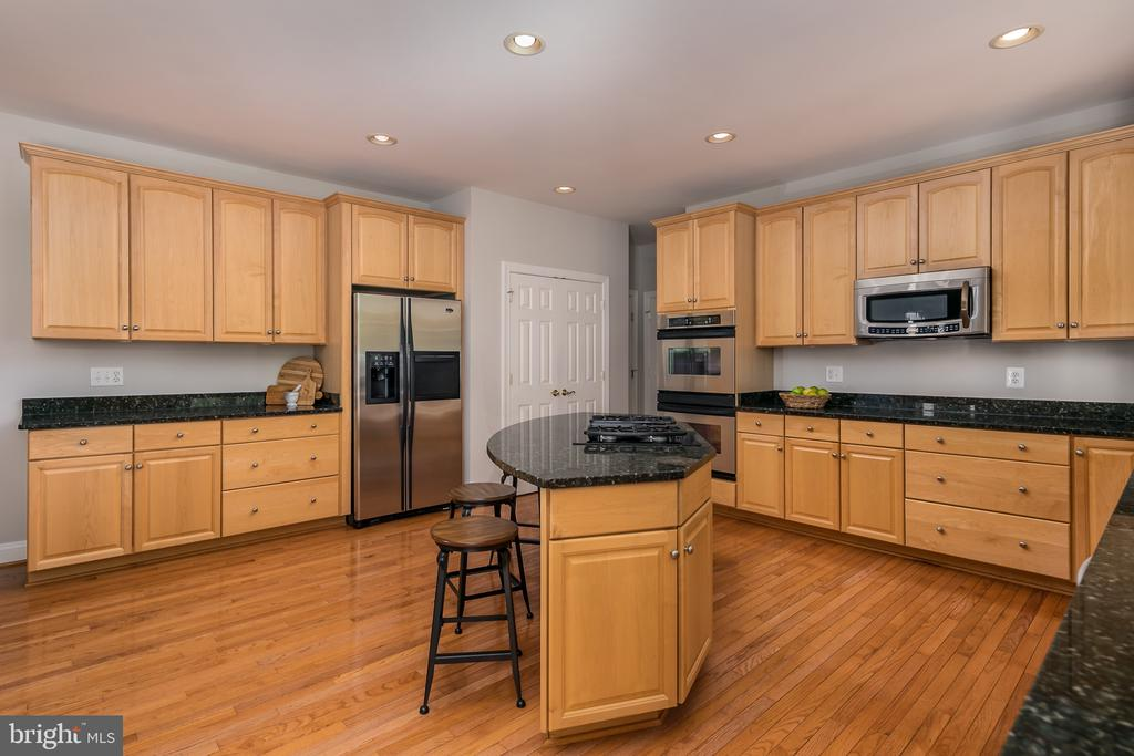Open kitchen, tons of cabinet space - 19030 COTON FARM CT, LEESBURG