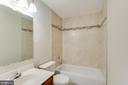 Hall Bath New Tub surround tile and Flooring Tile - 9 CARISSA CT, STAFFORD