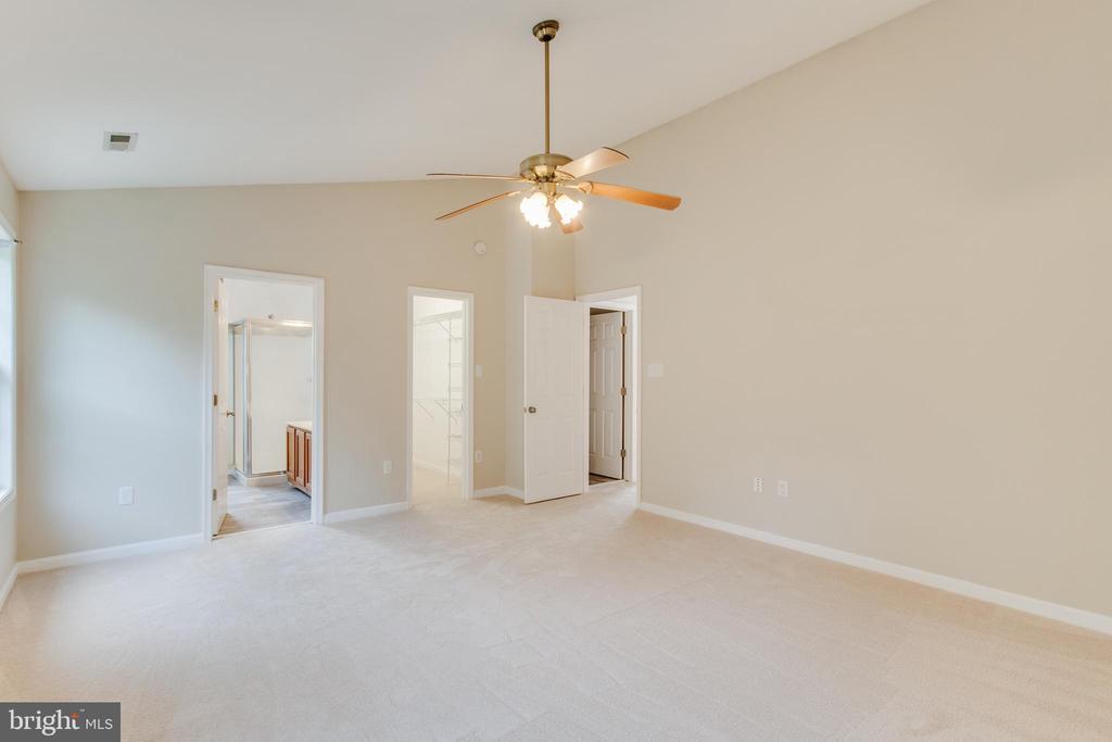 Master Bedroom Vaulted Ceiling - 9 CARISSA CT, STAFFORD