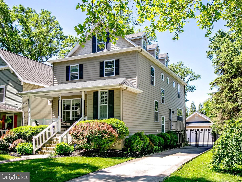 single family homes pour l Vente à Haddon Heights, New Jersey 08035 États-Unis