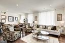 Living Room - 43166 WEALDSTONE TER, ASHBURN