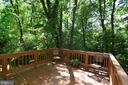 Rear deck - 11296 SILENTWOOD LN, RESTON