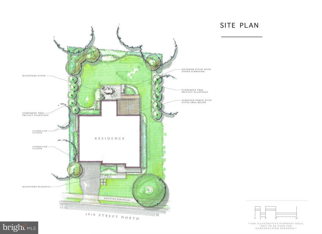 Illustrative Site Plan - 4278 38TH ST N, ARLINGTON