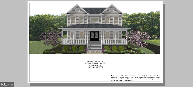 Single Family Homes pour l Vente à Manalapan, New Jersey 07726 États-Unis