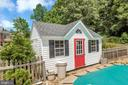 This a pool house and a work shed - 612 LENDALL LN, FREDERICKSBURG