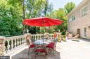 Enjoy al fresco dining! - 10010 HIGH HILL PL, GREAT FALLS