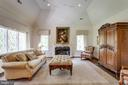 Cozy up by the fireplace - 10010 HIGH HILL PL, GREAT FALLS