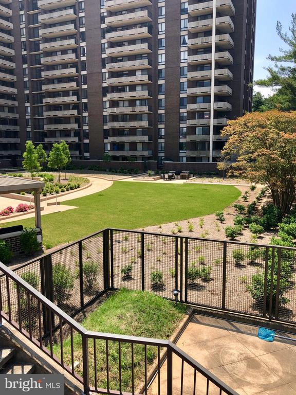 Photo Taken from the Upper Pool Deck - 1800 OLD MEADOW RD #606, MCLEAN