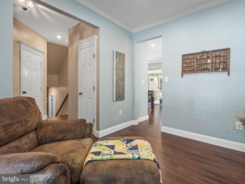 Living Room - 15528 BOAR RUN CT, MANASSAS