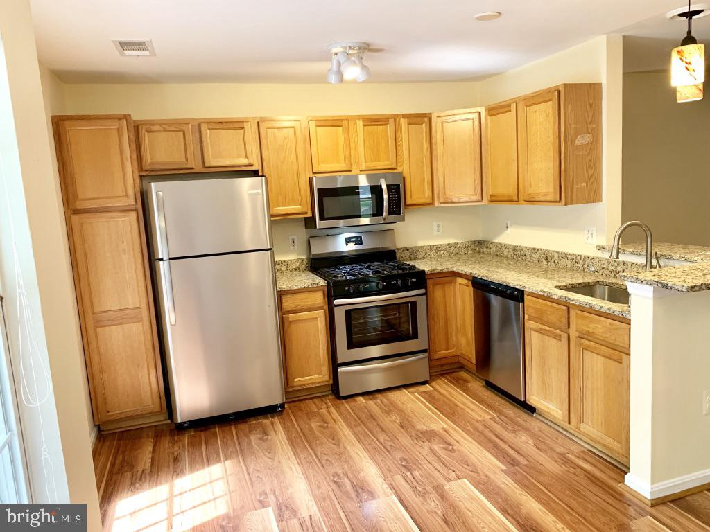 New granite counter tops and SS appliances - 501 CONSTELLATION SQ SE #C, LEESBURG