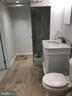 Lower Level Bathroom - 9103 LOUIS AVE, SILVER SPRING