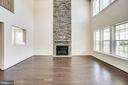 Great Room w/ optional stone fireplace surround - 04 FORMATION, FREDERICKSBURG