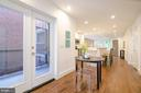 Private balcony  - one of 4 outdoor spaces - 1412 SHEPHERD ST NW #1, WASHINGTON