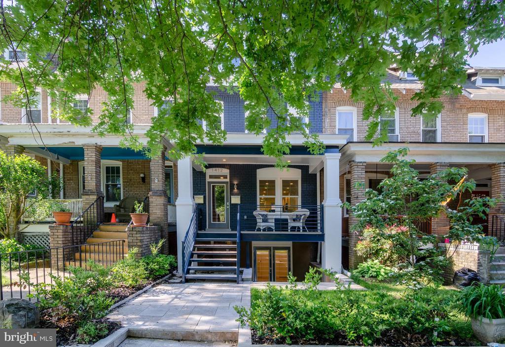 Welcome to the prettiest block in the neighborhood - 1412 SHEPHERD ST NW #1, WASHINGTON