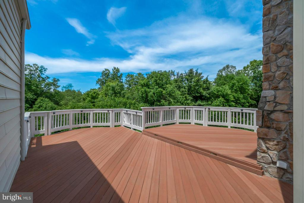 Spacious Deck with Private Treed View - 19883 NAPLES LAKES TER, ASHBURN