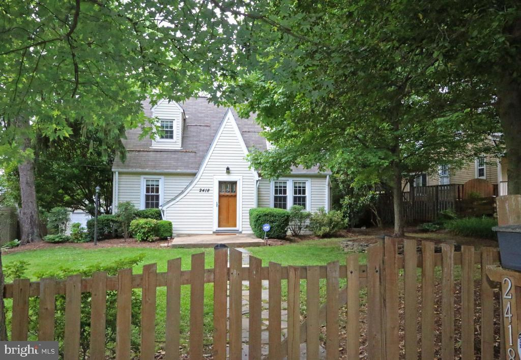 Tudor ??  Cape Cod ??   A blend of classic styles - 2418 HURST ST, FALLS CHURCH