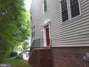 Entrance tucked away from street.  More windows! - 8539 BERTSKY LN, LORTON