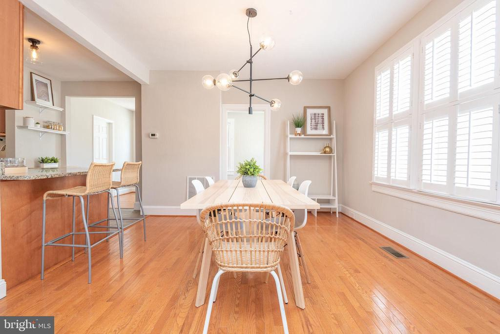 Main Level - Dining Room - 2952 MILLS AVE NE, WASHINGTON