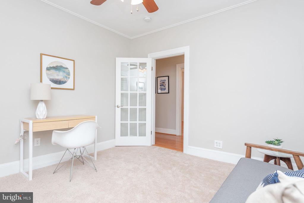 Main Level - Bedroom/Office - 2952 MILLS AVE NE, WASHINGTON