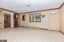 Entry in lower level - 6617 BROWNS QUARRY RD, SABILLASVILLE