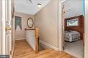 Main level hall - 6617 BROWNS QUARRY RD, SABILLASVILLE