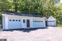 4 car garage - 6617 BROWNS QUARRY RD, SABILLASVILLE
