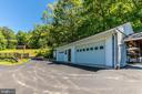 Garage with barns in background - 6617 BROWNS QUARRY RD, SABILLASVILLE