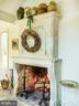Imported & Reassembled Stone Fireplace From France - 10211 KATIE BIRD LN, VIENNA